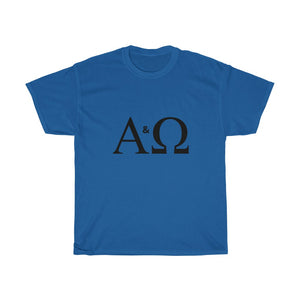 Alpha & Omega  Heavy Cotton INspired Tee