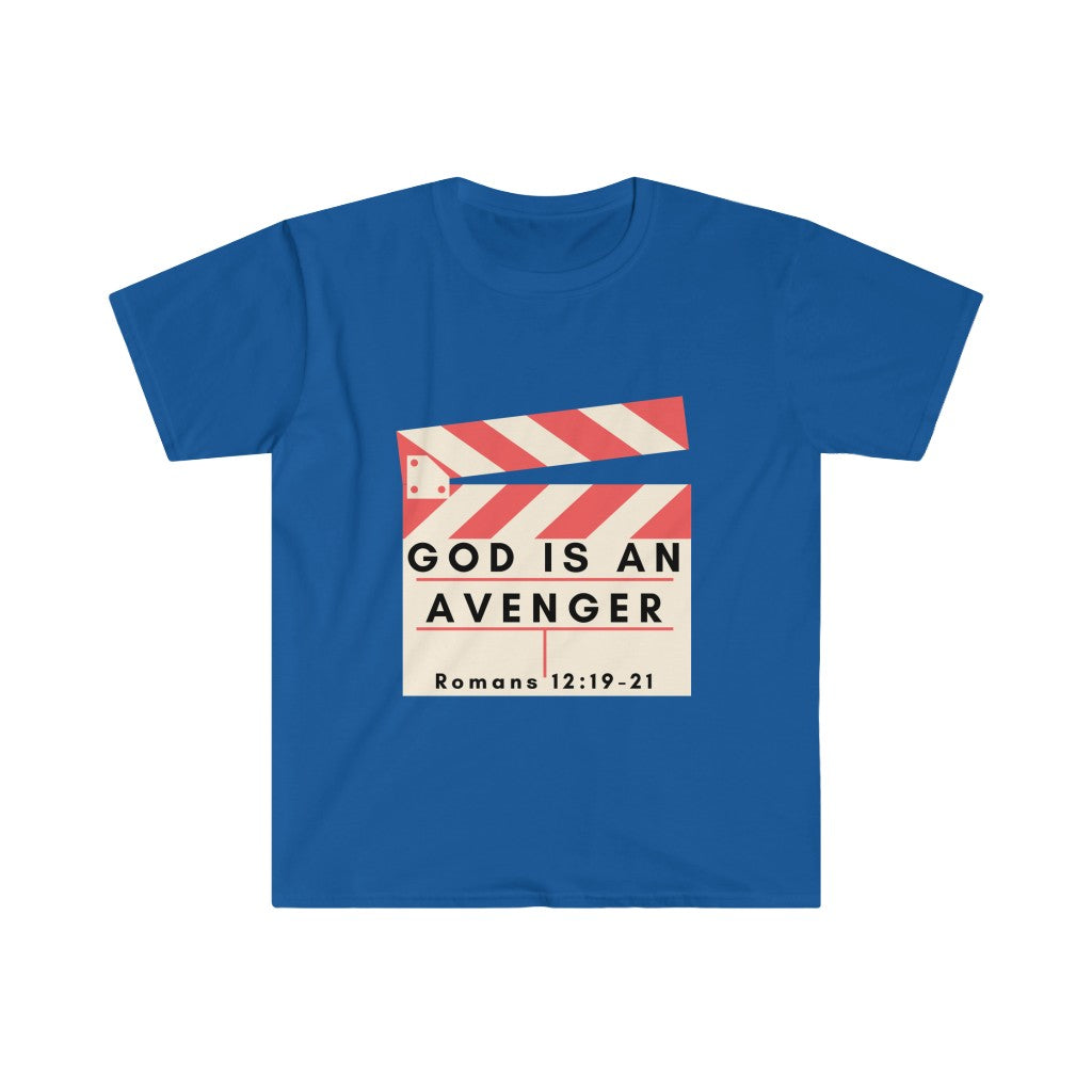 God is An Avenger 2 Softstyle INspired T-Shirt
