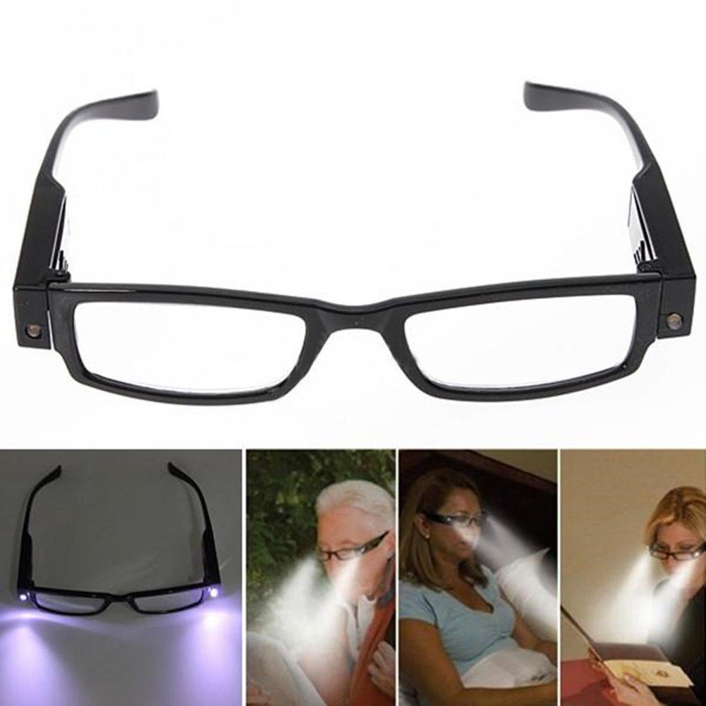 Multi Strength Reading glasses with LED glasses Man Woman Unisex eyeglasses Spectacle Diopter Magnifier light up