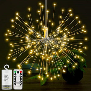 Festival Hanging Starburst String LED Twinkle Lights