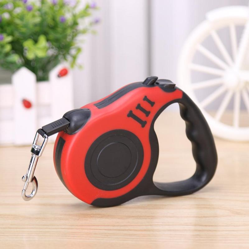 Retractable Dog Leash Automatic Flexible Dog Puppy Cat Traction Rope Belt