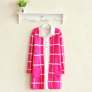 Spring Autumn Long Coat Winter Sweater