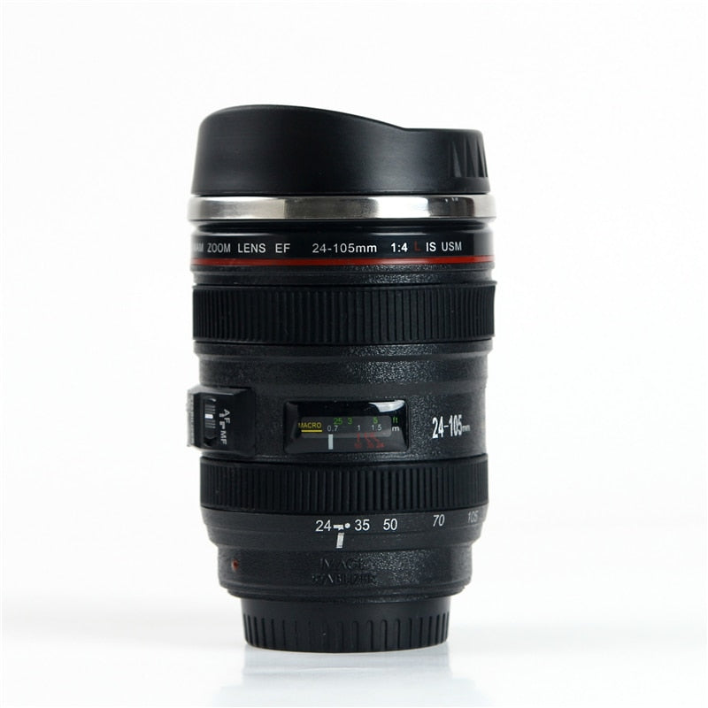 Camera Lens Travel Coffee/Tea Mug
