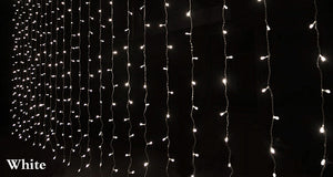 LED String Fairy Curtain Party Lights