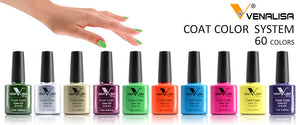 Nail Polish Lacquer Varnish Design Manicure Venalisa 60Color 7.5Ml