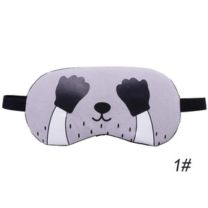 Sleep Aid Mask with Ice Compress Gel