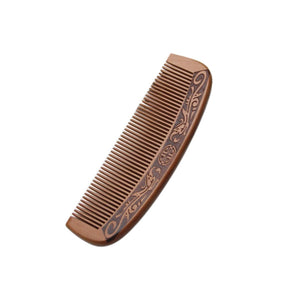 Wooden Peach Comb