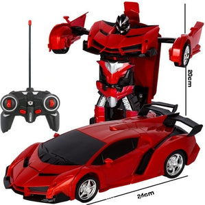 Transformer 2 in 1 RC Car Driving Sports Cars