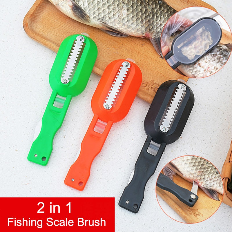 Plastic Scraping Fishing Scale Brush