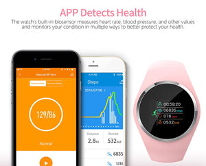 Smart Watch HR Blood Pressure Monitor