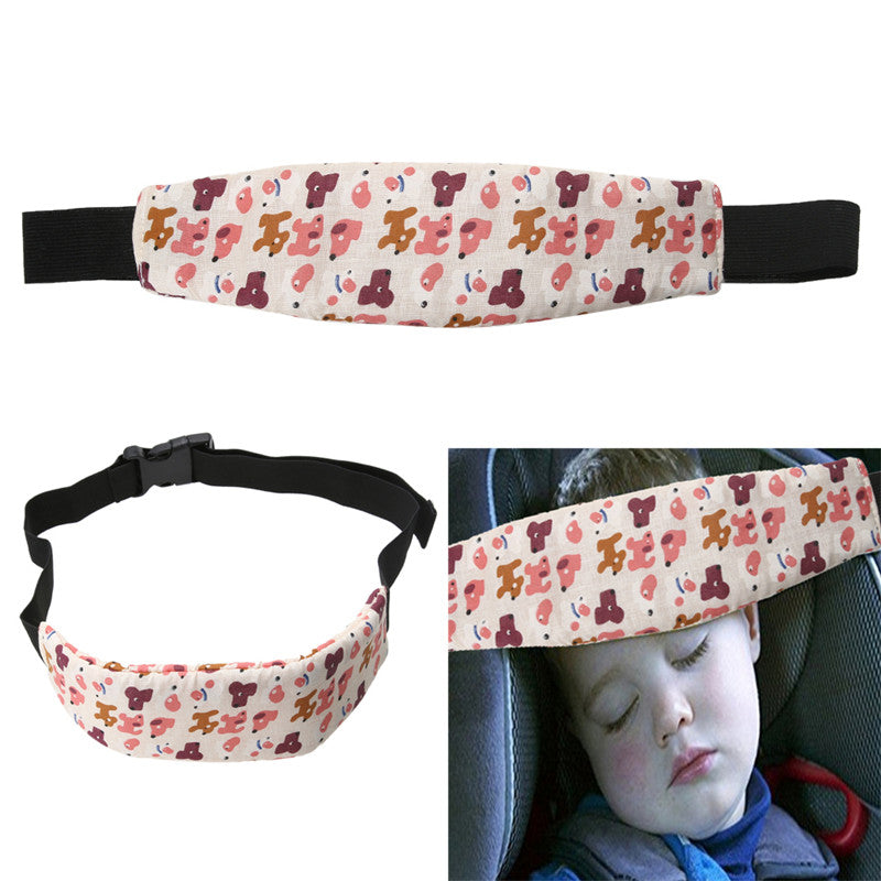 Baby Safety Car Seat Sleep Head Support