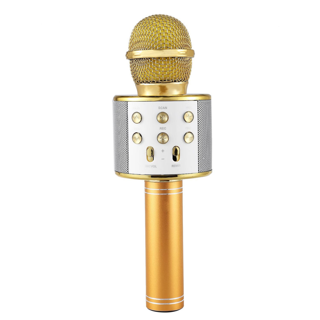 Bluetooth Wireless Karaoke Microphone Speaker