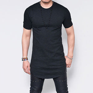Men's Plus size Summer Casual Short Sleeve Tops