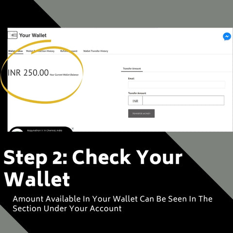 How To Use The Money In Your Wallet Step II