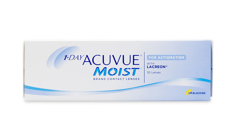 1 Day Acuvue Moist for Astigmatism 30 Lens Pack (Toric) - Getspexy