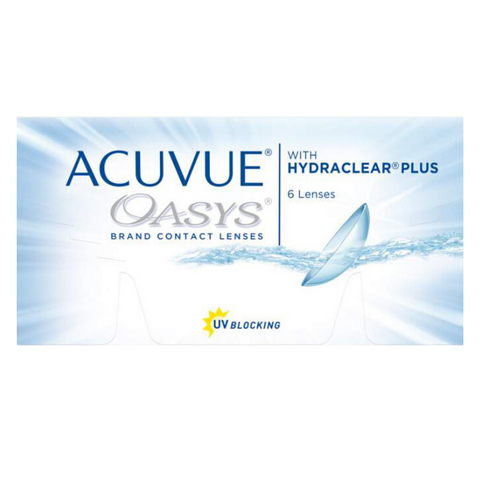 Acuvue Oasys with Hydraclear Plus 6 Lens Pack - Getspexy