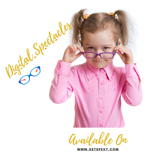 Spectacles With Harmful Blue Light Blockers (Teens-13 to 16 Years) - Getspexy