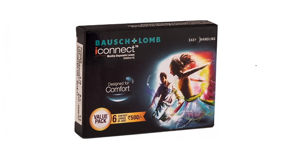 iConnect Monthy Disposable 06 Lens Pack - Getspexy