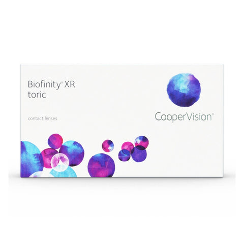 Biofinity XR Toric 3 Lens Pack - Getspexy