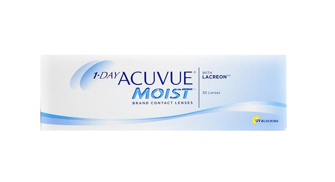 Acuvue Moist Daily Disposable 30 Lens Pack - Getspexy