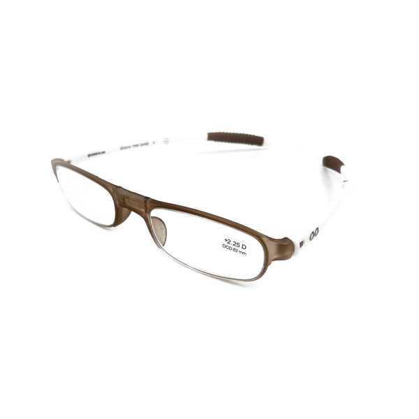 Getspexy Munimji Foldable Readers Brown and White - Getspexy