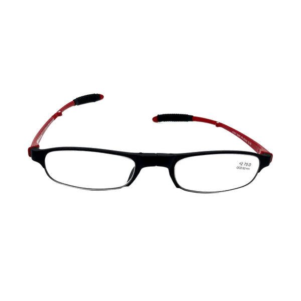 Getspexy Munimji Foldable Readers Red and Black - Getspexy