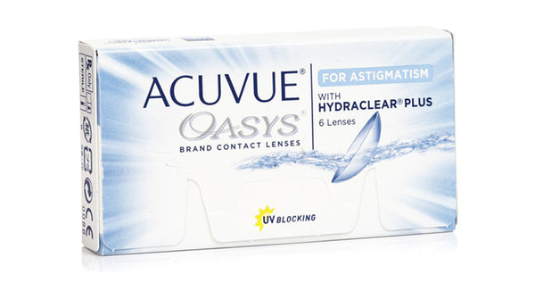 Acuvue Oasys for Astigmatism 6 Lens Pack (Toric) - Getspexy