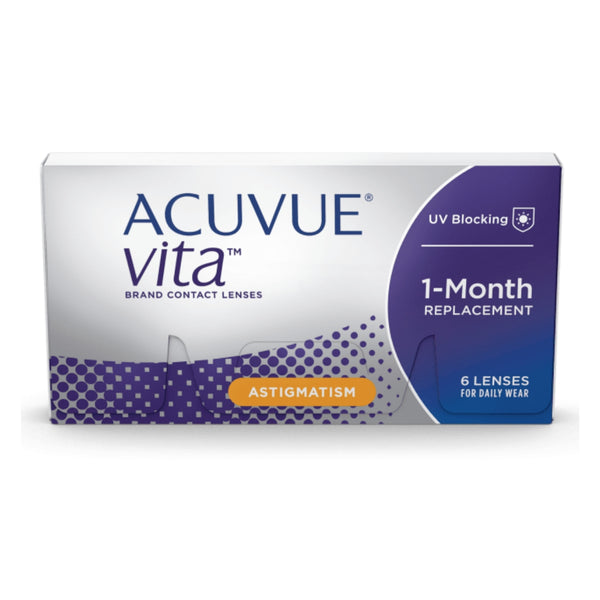 Acuvue Vita For Astigmatism 6 Lens Pack (CHECKOUT CODE: BUY2GET1000OFF) - Getspexy
