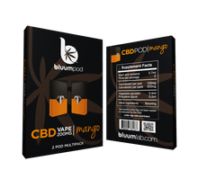 Load image into Gallery viewer, CBD POD CARTRIDGES 2PK