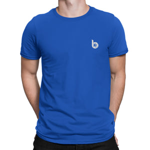 Round Neck Front/Back Logo T-Shirt