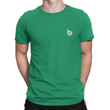 Load image into Gallery viewer, Round Neck Front/Back Logo T-Shirt