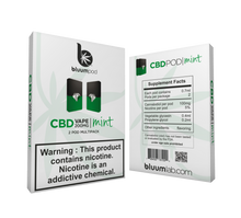 Load image into Gallery viewer, CBD Cartridges with Salt Nicotine - 2pk
