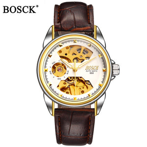 Skeleton Gold Mechanical Watches