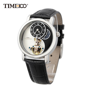 Waterproof Leather Strap Mechanical Watches