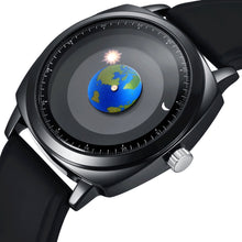Creative Earth Rotation Watch