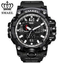 Luxury Waterproof Dual Display Watches