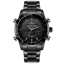Load image into Gallery viewer, Full Steel Men's Dual Display Watches