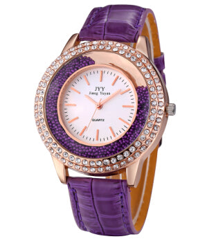 Ladies Leather Dress Watches