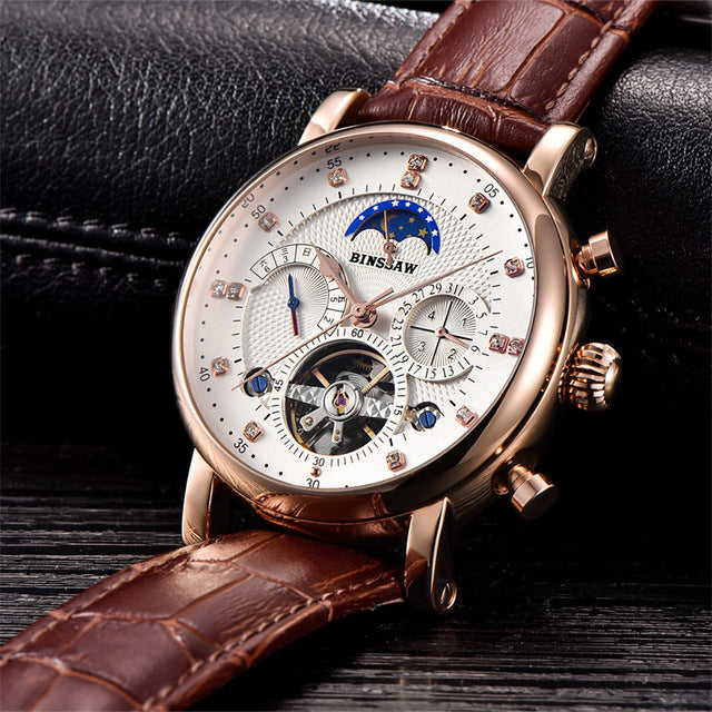 Men Full-automatic Mechanical Watch