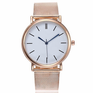 Women Stainless Steel Dress Watches