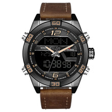 Luxury Men Dual Display Watches