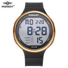 LED Digital Waterproof Wristwatch