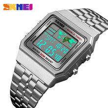 Stainless Steel Digital Watches