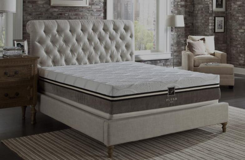 PlushBeds memory foam mattress
