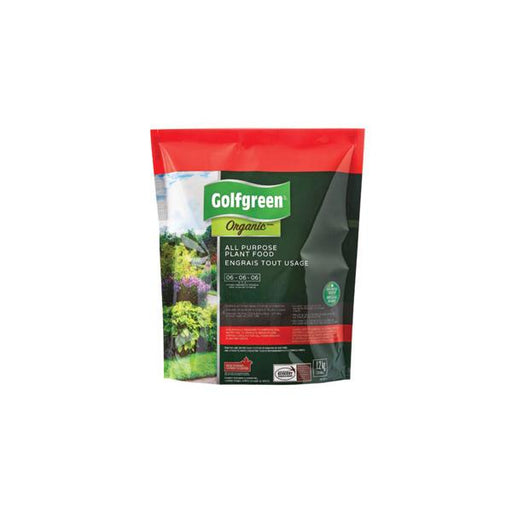 GOLFGREEN ORGANIC ALL PURPOSE PLANT FOOD 06-06-06, 1.2KG