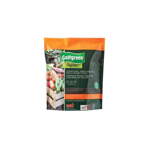 GOLFGREEN ORGANIC™ TOMATOES, VEGETABLE & FRUIT PLANT FOOD, 4-6-8, 1.2-KG