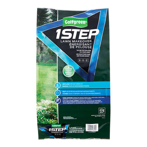 GOLFGREEN® 1Step Lawn Makeover Grass Seed, 4.5-kg