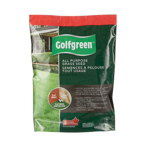 Semences à gazon tout usage GOLFGREENMD, 4-kg