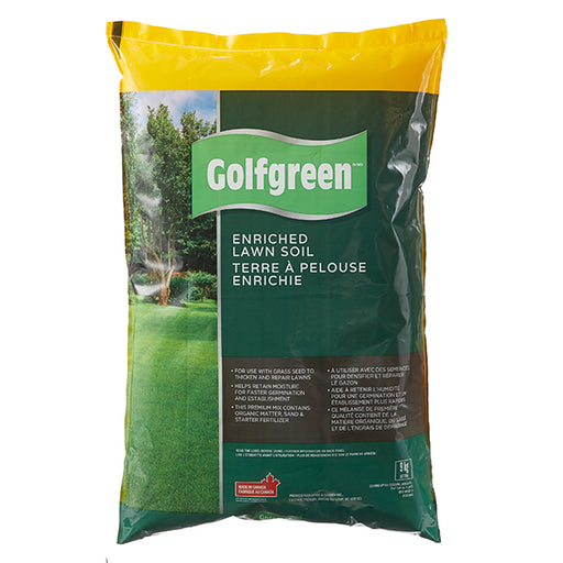GOLFGREEN® Enriched Lawn Soil, 30-L
