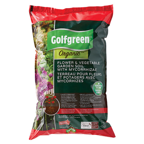GOLFGREEN® Organic Flower & Vegetable Soil, 25-L